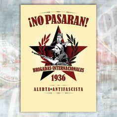 No Pasaran. Brigadas internacionales. 1936