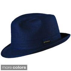 Stetson Havana Linen Fedora | Overstock.com Shopping - The Best Deals on Men's Hats