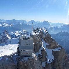Marmolada, ecco il belvedere più alto delle Dolomiti