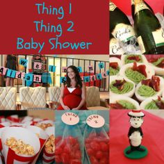 thing+one+thing+two+party+decorations   All About the Details: Party [Thing 1, Thing 2 Baby Shower]