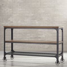 Found it at Wayfair - Corvus Console Table