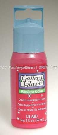 Gallery glass paint/use for faux stained glass projects. I used several of these to make my bathroom window design!