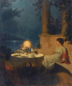 Marcel Rieder: Solitude Au Bord Du Lac