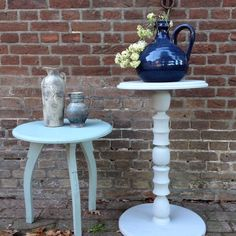 New at Raw & Chalk: 2 chalk painted tables.