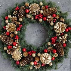 Christmas holidays often come with joy and happiness. This can be emphasized wit., Christmas holidays often come with joy and happiness. This can be emphasized with a bunch of DIY Christmas wreaths to make the holiday complete. Christmas Wreaths To Make, Holiday Wreaths, Rustic Christmas, Christmas Holidays, Christmas Crafts, Christmas Ornaments, Christmas Ideas, Christmas Island, Christmas Wresth