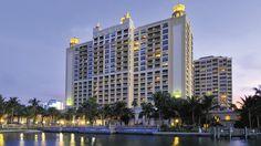 Ritz Sarasota- Exterior shot of hotel with water view