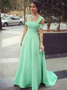 elegant cold shoulder blue evening gowns, fashion formal party dresses for special occasion, #dresses #eveningparty