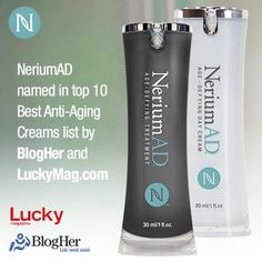 More and more beauty experts are talking about NeriumAD! #LuckyMag #BlogHer