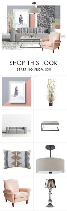"""""""Tastemasters - Colour Palette Inspirations"""" by neicy-i ❤ liked on Polyvore featuring interior, interiors, interior design, home, home decor, interior decorating, Sandro, Lyon Béton, Frontgate and Sea Gull Lighting"""