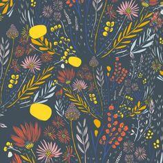 Wispy Daybreak in Nimbus by Bobbie Lou's Fabric Factory
