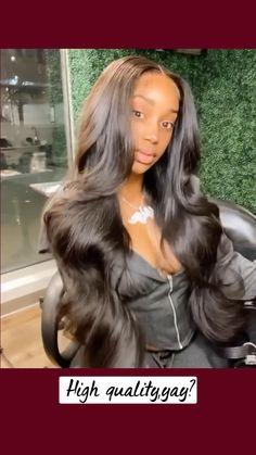 Birthday Hairstyles, Sew In Hairstyles, Baddie Hairstyles, Black Women Hairstyles, Braided Hairstyles, Beautiful Hairstyles, Wig Styles, Curly Hair Styles, Weave Styles