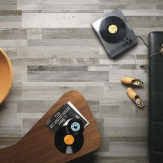 Silvered Grey Wood Effect Tiles Tiles