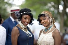 Photos: Jazz Age Lawn Party Brings Governors Island Back In Time (Katie Sokoler / Gothamist)