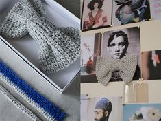 Need an excuse to knit? Try one of these adorable bows. TrendTablet- photos by philippe costes