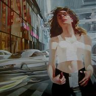 Kai Fine Art is an art website, shows painting and illustration works all over the world. Woman Painting, Female Art, Oil On Canvas, Beautiful Women, Fine Art, Drawings, Illustration, Artwork, Image