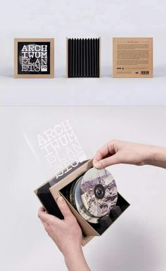 CD/DVD packaging.