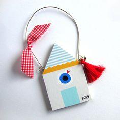 Rock Crafts, Diy Arts And Crafts, Paper Crafts, Diy Crafts, Christmas Makes, Christmas Time, Christmas Crafts, Christmas Ornaments, First Christmas Married
