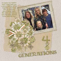4 Generations - Scrapbook.com