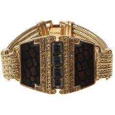 Gold Geometric Bracelet ♛