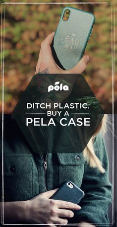 The Eco-Friendly Phone Case that Gives Back: Pela Case is the world's FIRST biodegradable phone case. Shop now to protect your phone and our planet. Green Life, Go Green, No Plastic, Save The Planet, Sustainable Living, Zero Waste, Biodegradable Products, Just In Case, Sustainability