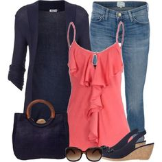 Classic Outfits for Women   women-girl-casual-smart-wear-outfits-jeans-summer-spring-style-clothes ...