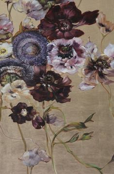 Claire Basler - Contemporary Artist - Flowers Plus Art Floral, Motif Floral, Paintings I Love, Art Paintings, Art Graphique, Painting & Drawing, Painting Abstract, Acrylic Paintings, Painting Inspiration