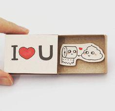 火材盒-I love U