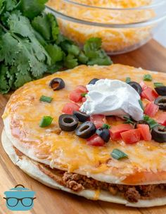 COPYCAT TACO BELL MEXICAN PIZZA - dinner #dinner #maindishes