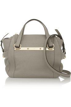 Chlo'e Bridget mini textured-leather shoulder bag | THE OUTNET