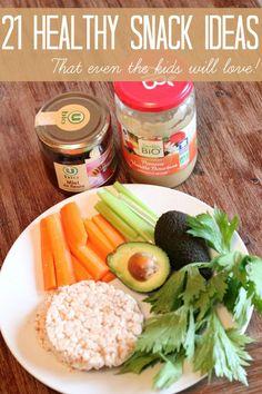 21 healthy snack ideas