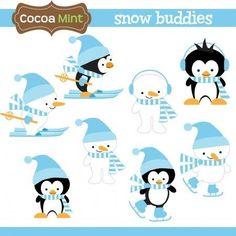 Cocoa Mint - Snow Buddies - Minus