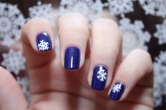 snb winter nails flocons snowflake turbomagik