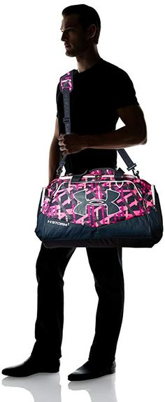 840a4fb31 Under Armour Storm Undeniable II Duffle, Ballet Pink /Stealth Gray, One  Size.