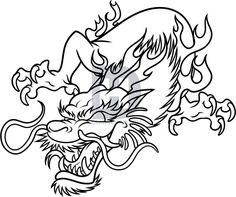 Draw a Chinese Dragon Easy Step by Step Dragons Draw a Dragon