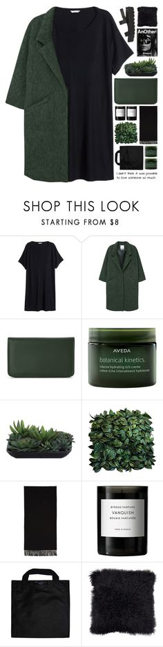 """love is a possibility..."" by cinnamon-and-cocoa ❤ liked on Polyvore featuring H&M, MANGO, Buxton, Aveda, Lux-Art Silks, Acne Studios, Byredo, Alexander McQueen, Black+Blum and SPURR"