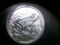 hobo nickel hand engraved buffalo nickel coin. by oiseaumetalarts