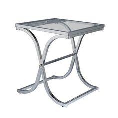 Vogue End Table  Chrome >>> Check out this great product.Note:It is affiliate link to Amazon.