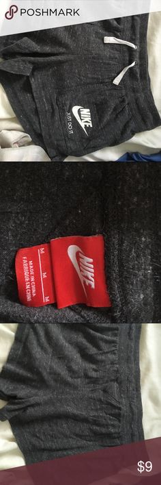 Vintage Nike Shorts No flaws! Not too scratchy, just used condition! Nike Shorts