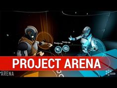'Project Arena' is a Tron-like VR eSport for Oculus Touch and HTC Vive - YouTube