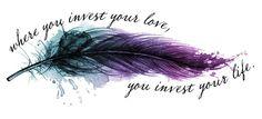 Feather tattoo idea-cover up for my heart??? | FollowPics