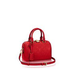 Speedy Bandoulière 20 Monogram Empreinte Leather - Handbags | LOUIS VUITTON