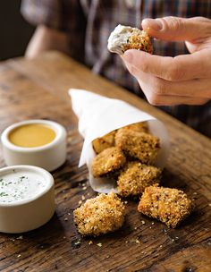 DIY chicken nuggets are the perfect kid-friendly finger food! Serve with carrots, celery and jicama cut into matchsticks to maximize the dipping fun.
