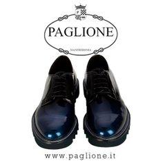 #Paciotti4US #Stringate #Metal #Glass #Marea in #Vernice #Blu #Scontate del 30%!!!! Acquistale #online #Eleganza #Style #Fashion #Cool #Uomo #Shoes