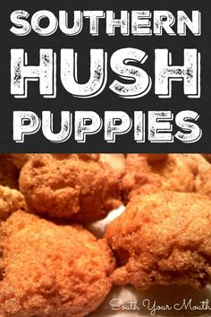 An authentic Southern recipe for Hush Puppies made with cornmeal, buttermilk, bacon drippings and onions. Catfish Recipes, Seafood Recipes, Appetizer Recipes, Cooking Recipes, Appetizers, Dinner Recipes, Sunday Recipes, Tilapia Recipes, Salmon Recipes
