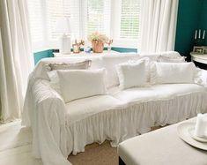 Your place to buy and sell all things handmade Ektorp Sofa, Ikea Ektorp, Custom Slipcovers, Slipcovers For Chairs, Slipcover Sofa, Large Throws For Sofas, Large Sofa, Sofa Throw Cover, Couch Covers