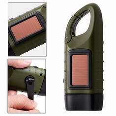"""Kurbel-Taschenlampe """"Solar"""" Survival Shop, Led, Outdoor Survival, Camping, Flashlight, Campsite, Survival Store, Outdoor Camping, Campers"""