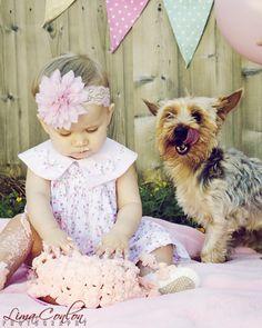 Baby girl 1 year photo shoot | Baby and Dog Baby Photography in Dublin Lima-Conlon Photography