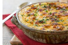 Bacon Cheese Grits Casserole | The Old Mill Kitchen