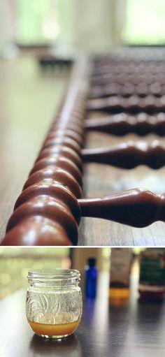 Cómo hacer cera para la madera
