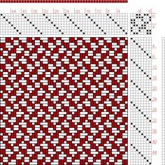 Hand Weaving Draft: Page 34, Figure 33, Bindungs-Lexikon für Schaftweberei, Franz Donat, 8S, 8T - Handweaving.net Hand Weaving and Draft Arc...